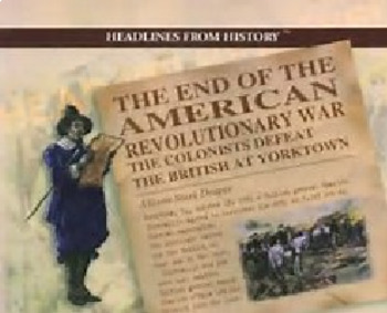 Bundle of 2 - American Revolutionary War - Ending the War & Expanding the US