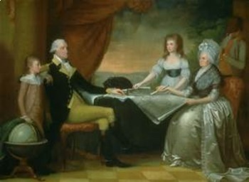 Bundle of 2 - American Revolutionary War - George & Martha Washington