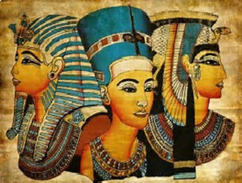 Bundle of 2 - Ancient Civilizations - Egypt & North Africa - Vocabulary Exercise