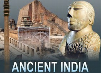 Bundle of 2 - Ancient Civilizations - India & SE - Vocabulary Exercise