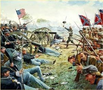 a description of gettysburg as the turning point in the american civil war Pennsylvania in the american civil war  the bloodiest battle of the war, the battle of gettysburg,  this battle to be a major turning point of the civil war.