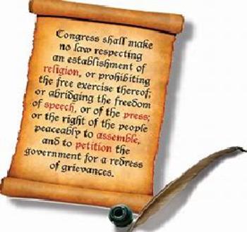 Bundle of 3 - Exploring the 1st Amendment - Study Guide, Answer Key