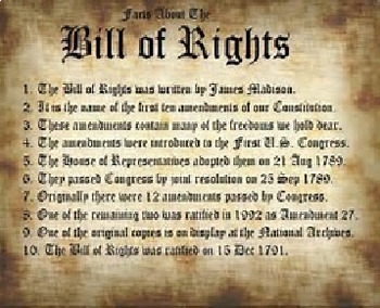 Bundle of 2 - Bill of Rights & The Civil Rights Acts of 64 & 65
