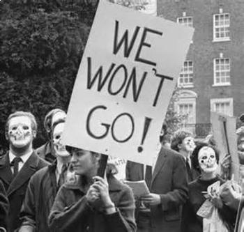 Bundle of 2 - Civil Rights Movement - Vietnam Anti-War Movement