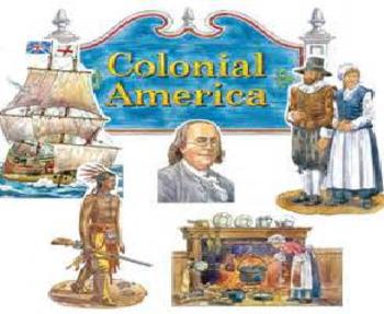 Bundle of 2 - Colonial America - Colonization & Unit Vocabulary Exercise