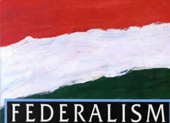 Bundle of 2 - Establishing the US Government - Federalism - Unit Vocabulary