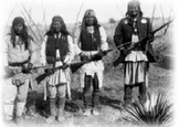 Bundle of 2 - Famous American Chiefs - Cochise & Gerominio