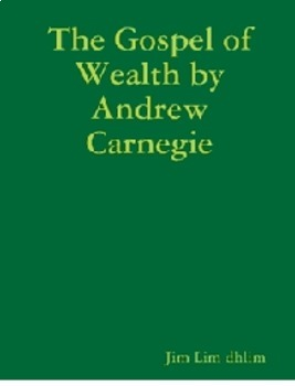 Bundle of 2 - Industrialization - Social Darwinism & The Gospel of Wealth