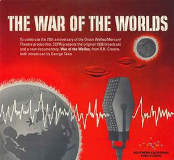 Bundle of 2 - Invention of Radio and the War of the Worlds Broadcast