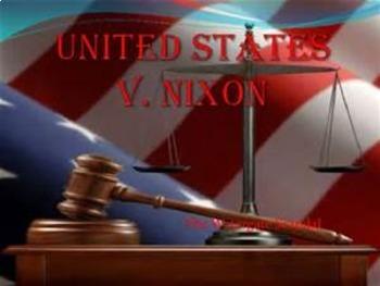 Bundle of 2 - Landmark Supreme Court Cases - Presidential Rulings