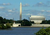 Bundle of 2 - National Monument - The Washington & Lincoln Monuments