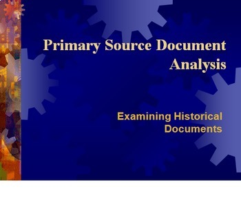 Bundle of 2 - Primary Source Analysis - Document Based Question