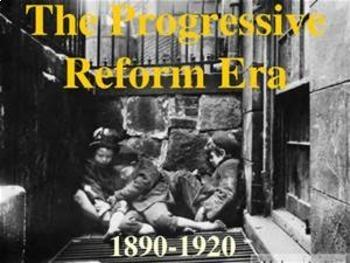 Bundle of 2 - Progressivism & Reform - Children, Women & African Americans