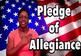 Bundle of 2 - The Flag of the United States & The Pledge of Allegiance