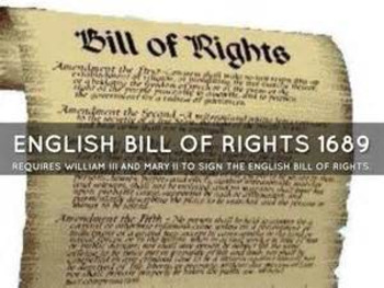 Bundle of 2 - The Magna Carta & The English Bill of Rights