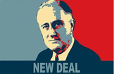 Bundle of 2 - Tutorials - FDR's New Deal: The First 100 Days, Parts 1 & 2