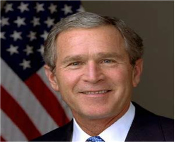 Bundle of 2 - US Presidents - #43 - G W Bush & His Election