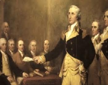 Bundle of 2 - Washington, Presidential Precedents & Unit Vocabulary Exercise