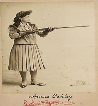 Bundle of 2 - Western Expansion in the U. S. - Buffalo Bill & Annie Oakley