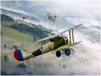 Bundle of 2 - World War I - Enemy Aces - Rickenbacker & The Red Baron