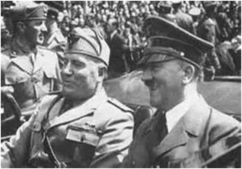 Bundle of 2 - World War II - Hitler & Mussolini