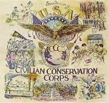 Bundle of 2 - World Wars Era - FDR & the Civilian Conserva