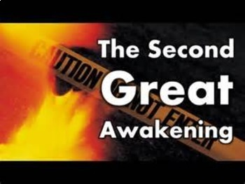 Bundle of 2 - Religion - The Second Great Awakening & Char