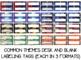 Desk Name Tag Plates MEGA Bundle