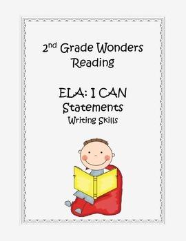 "Bundle of 2nd Grade ELA ""I CAN"" Statements"