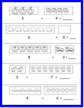 Bundle of 3 Addition Sentence Sets