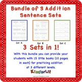 Bundle of 3 Kindergarten Addition Sets