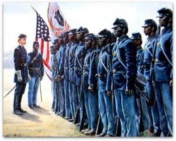 Bundle of 3  - Civil War - African-American Soldiers in the American Civil War