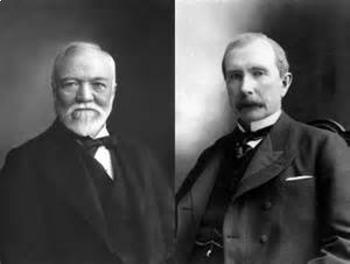 Bundle of 3 - Industrialization - Carnegie, Rockefeller & Vanderbilt