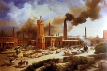 Bundle of 3 - Industrialization - Comparison of the Industrial Revolutions