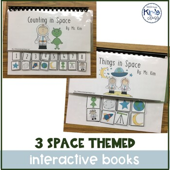 Bundle of 3 Interactive Space Books
