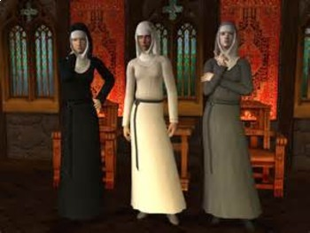 Bundle of 3  - Middle Ages Life of Medieval Nuns