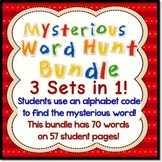 Bundle of 3 Mysterious Word Hunt Sets