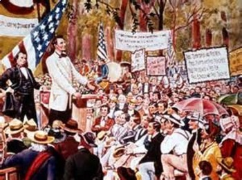 Bundle of 3 - Political Movements - Events of the 1850s & the Election of 1860