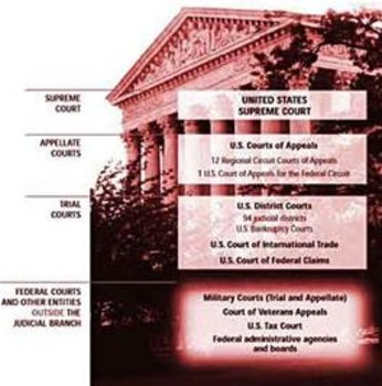 Bundle of 3 - The United States Court System - Federal Court System Overview