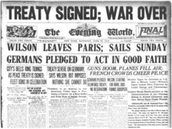 Bundle of 3 - World War I - Ending the War & Aftermath