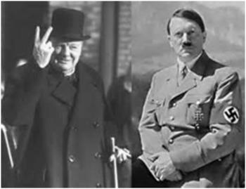 Bundle of 3 - World War II - Churchill, Hitler & the Battle of Britain