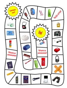 Bundle of 3 engaging games to accompany PACKING FOR A TRIP MULTIMEDIA  PPT
