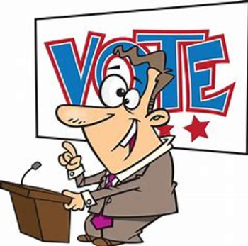 Bundle of 4 - 4, Vocabulary Exercises - Elections & Campaigns