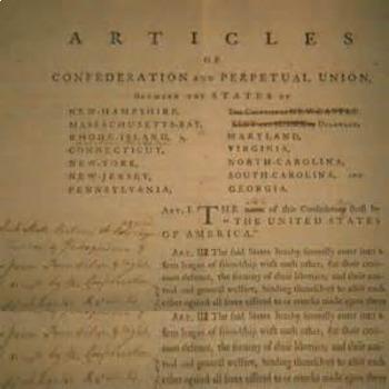 Bundle of 4 - American Revolution - Articles of Confed-Sha
