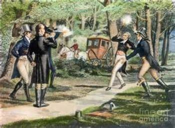 Bundle of 4 - American Revolutionary War - Burr-Hamilton