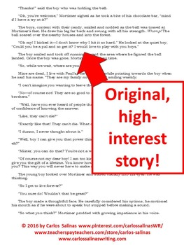 Bundle of 4 Original Short Stories for Teens w/ Reading Comprehension Questions