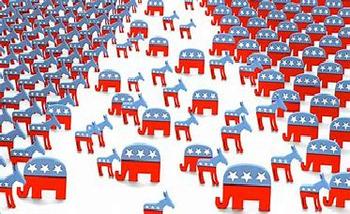 Bundle of 4 - Political Parties in America - 1 Tutorial, LP, 2 PP