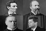 Bundle of 4 - Presidential Assassinations - Presidents Murdered in Office