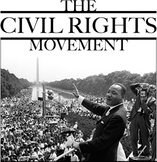 Bundle of 4 - The Civil Rights Movement - The Struggle to Get to Vote