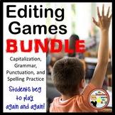 Grammar Spelling Capitalization Punctuation Editing Games